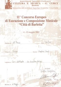 Barletta 2001