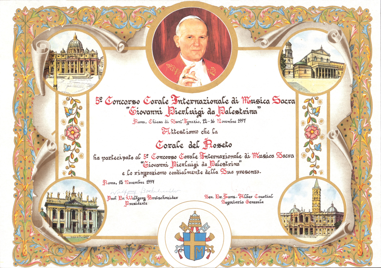 Roma - Città del Vaticano 1997
