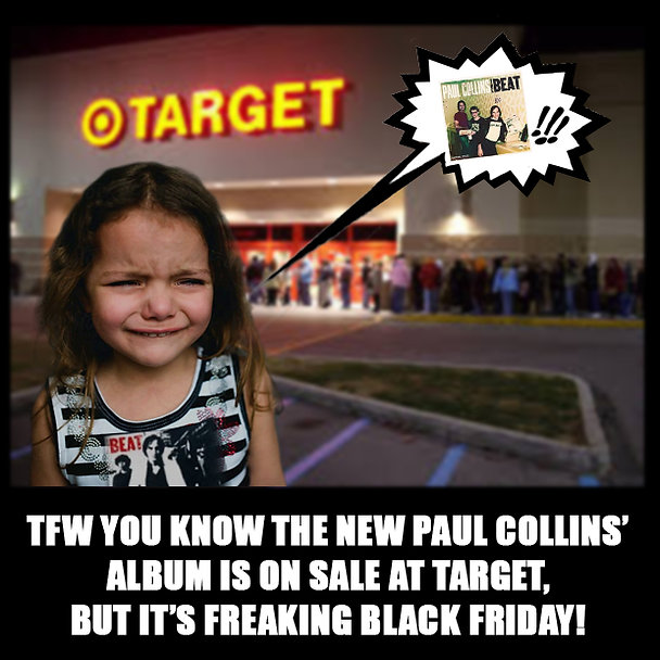 Black Friday Little Girl Power Pop Meme
