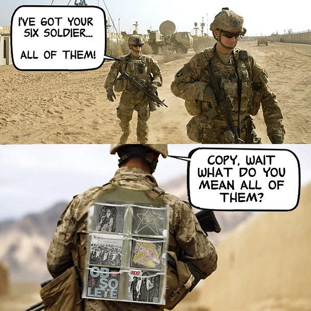 Soldier Got Your Six Power Pop Meme flat
