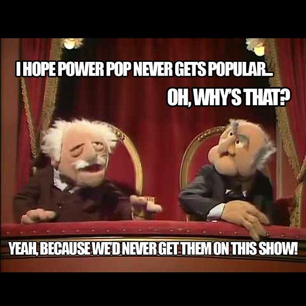 Stadler and Waldorf Power Pop Meme squar