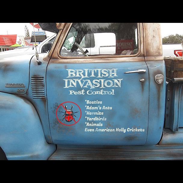 British Invasion Pest Control mEME SQUAR