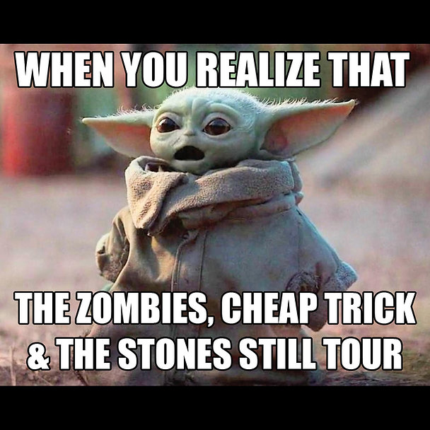 Baby Yoda Realization Power Pop Tour Mem