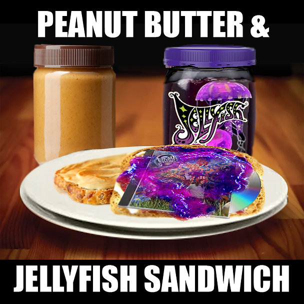 Peanut Butter and Jellyfish Sandwich Pow