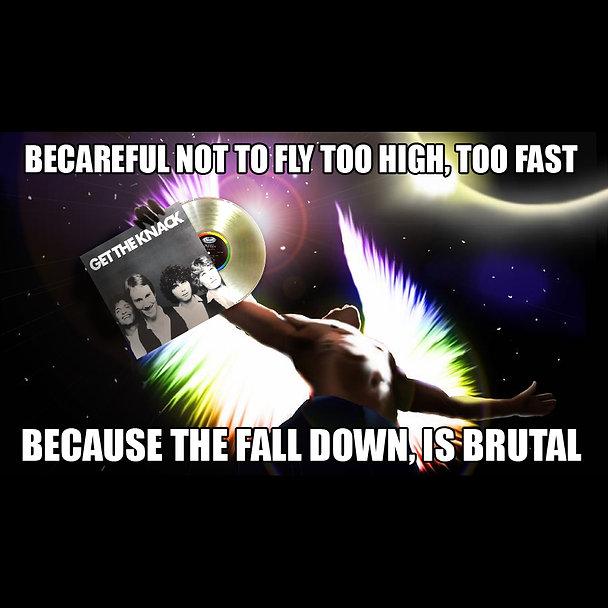 Knack Icarus Power Pop Jake Meme square.