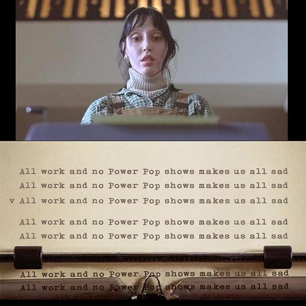 Shining Typewriter Power Pop Meme flat.j