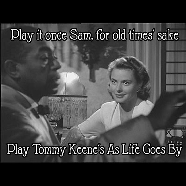 Casablance Play It Sam Tommy Keene squar
