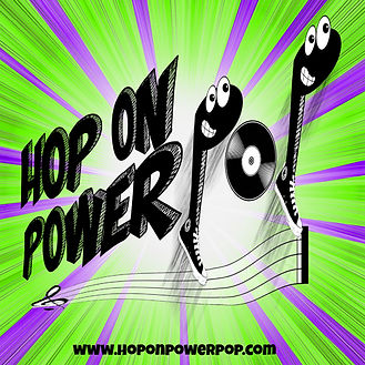 Hop On Power Pop Podcast Graphic MASTER