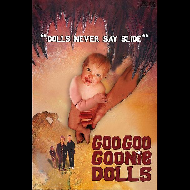 Goo Goo Goonies Movie Poster MASTER flat