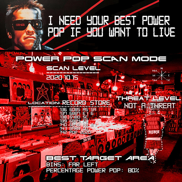 Terminator Record Store Power Pop Meme f