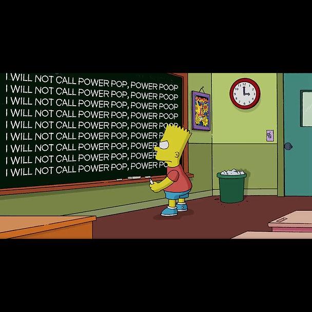 Bart Simpson Chalkboard Power Pop meme s