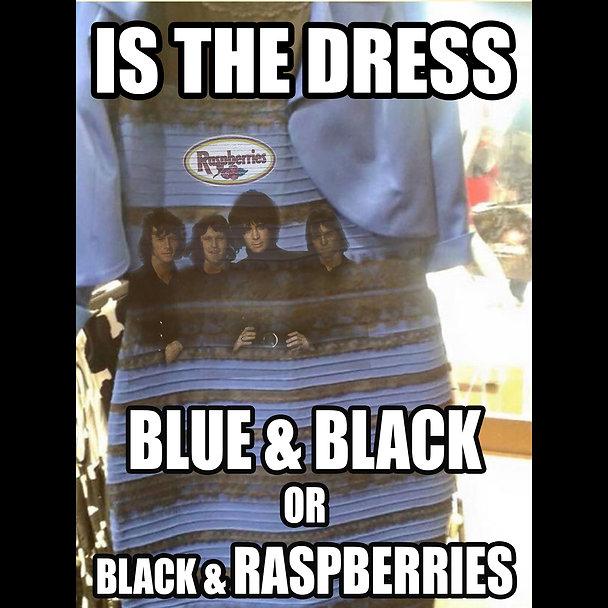 The Dress Blue Black Raspberries Version