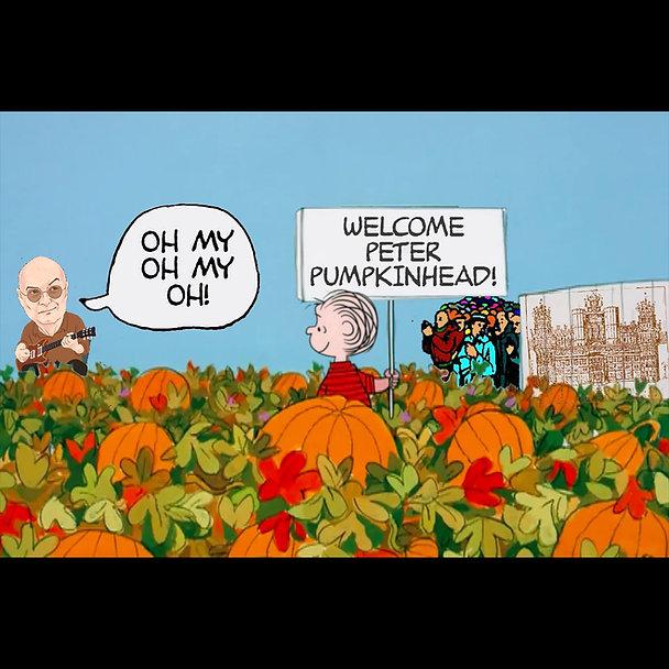 Linus Welcome Peter Pumpkinhead Power Po