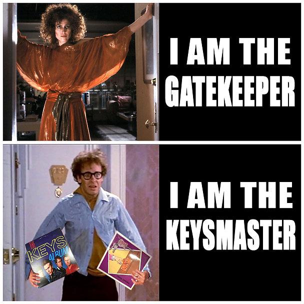 Ghostbusters GateKeeper KeysMaster Power