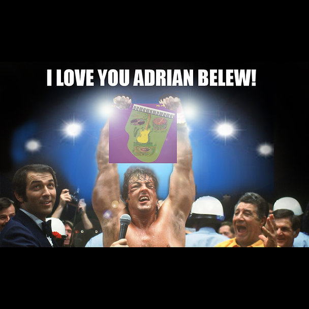 Rocky Adrian Belew Power Pop Meme square