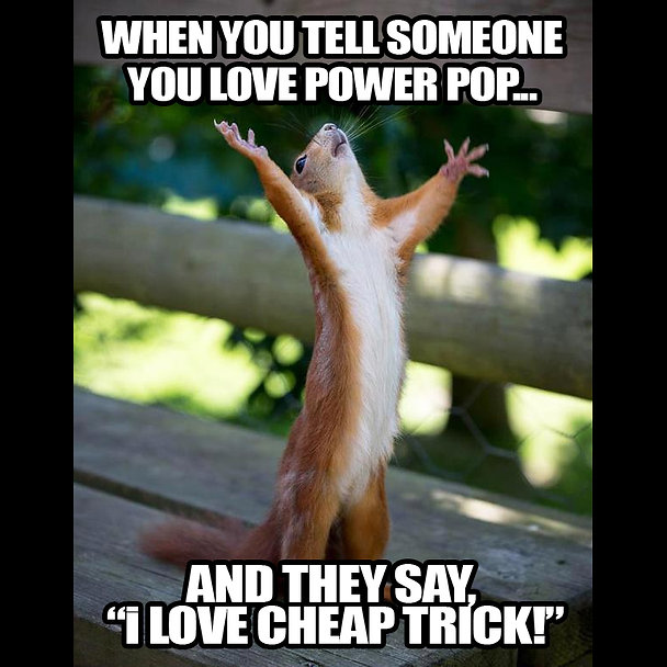 Thank You Squirrel Power Pop Meme square