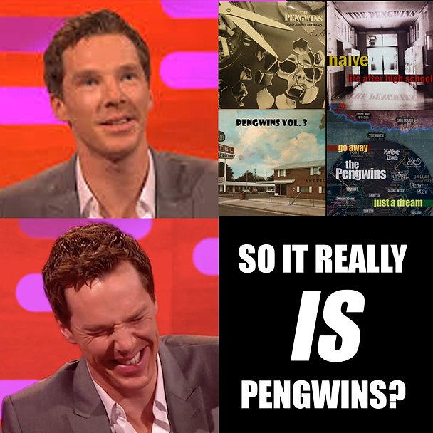 Benedict Cumberbatch Pengwins Power Pop