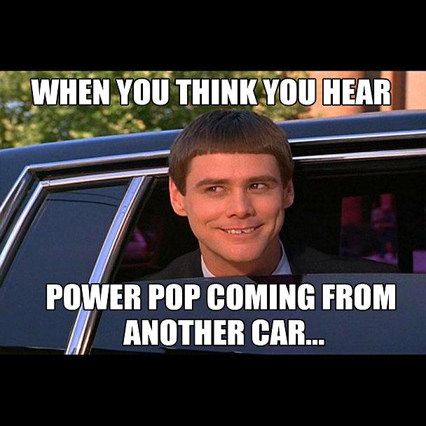 Dumb and Dumber Power Pop Meme FLAT SQUA