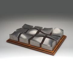 Cast Aluminium Waveform Puzzle