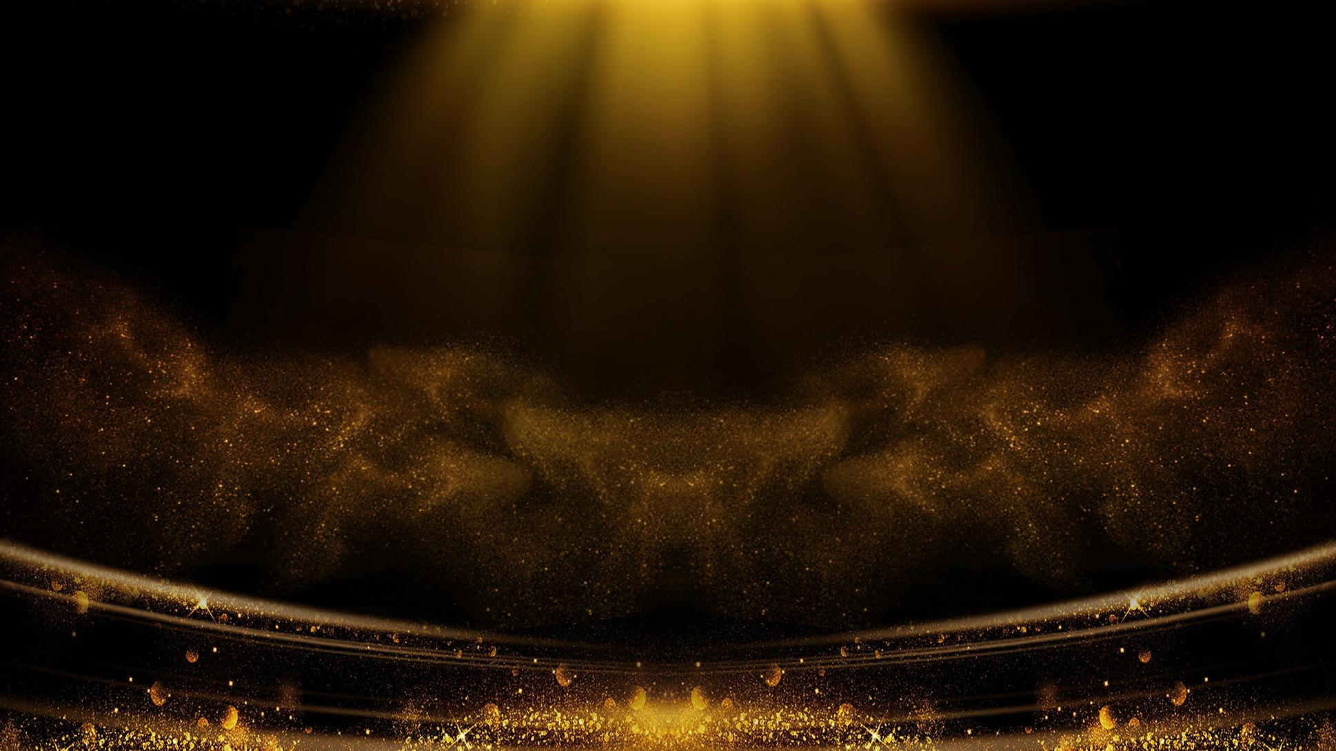 —Pngtree—award ceremony black gold style