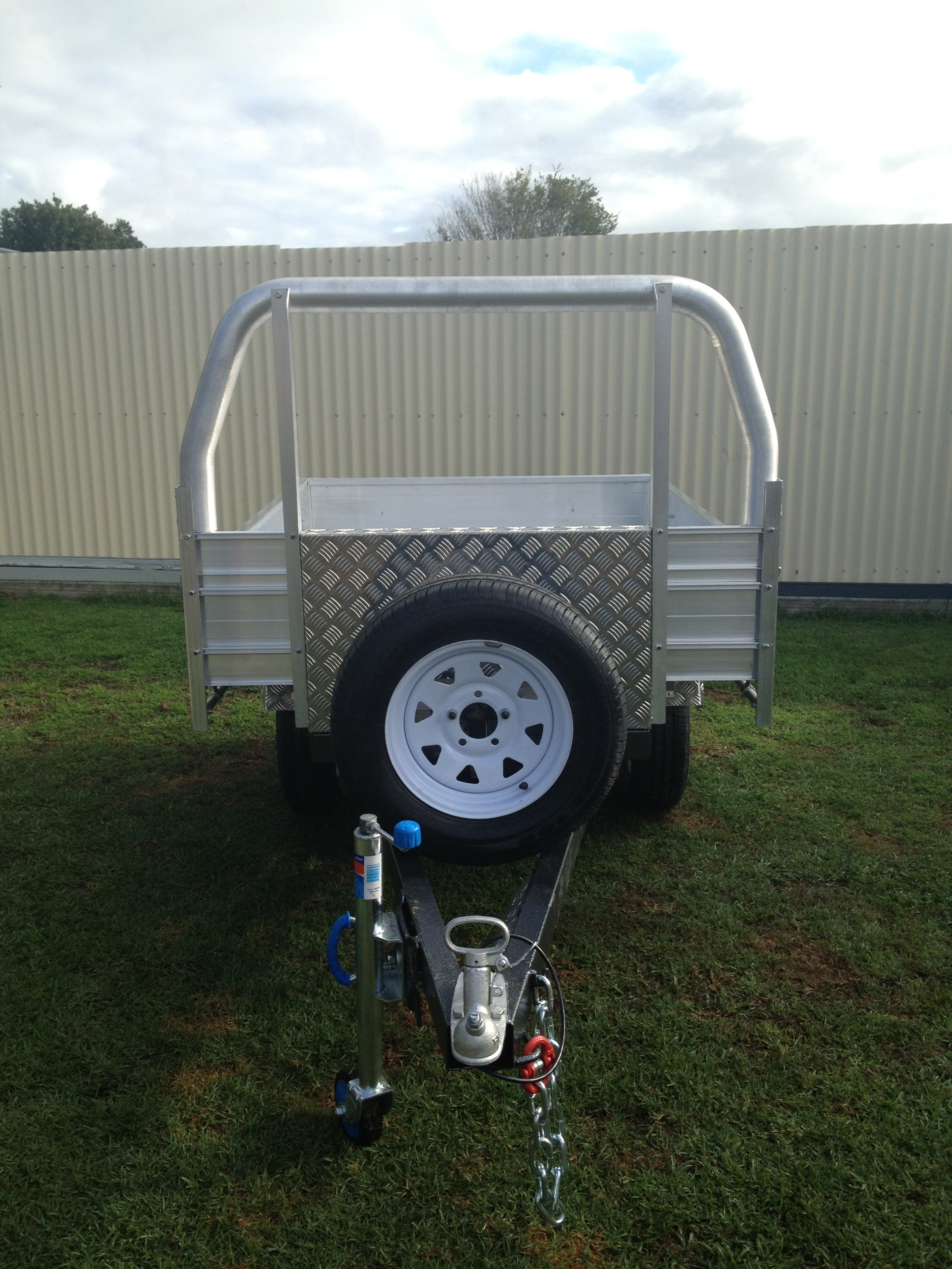 6x4 750kg Single Axle Trailer