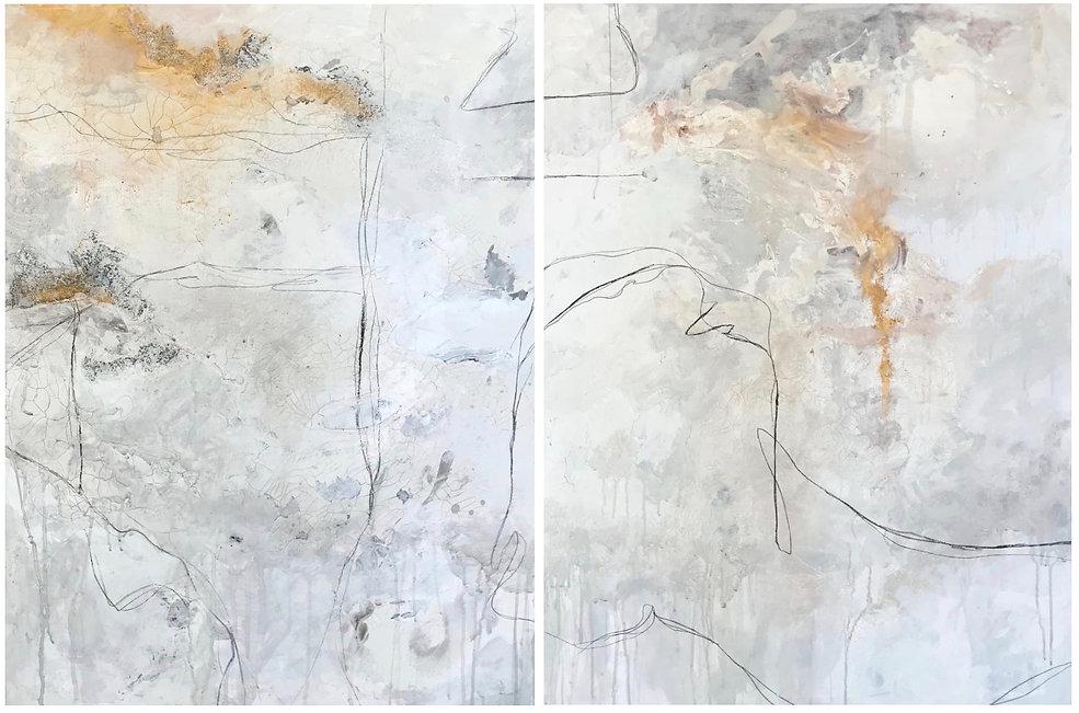 Jenna Polla, Neutral, abstract art