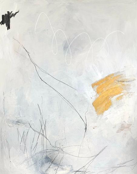 Neutral, abstract art, Jenna Polla