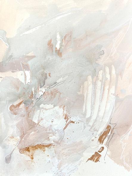 Jenna Polla, Light pink, abstract Canadian art