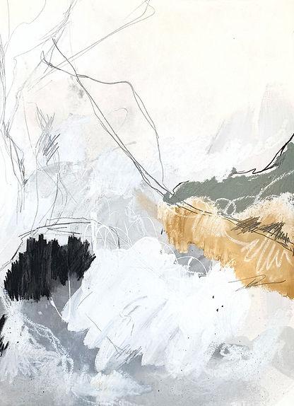 Jenna Polla. Neutral, abstract art