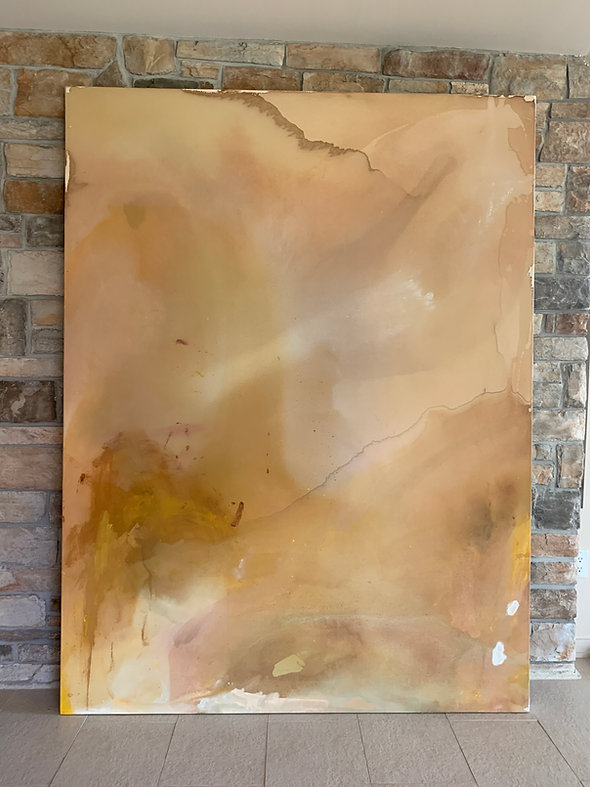 Neutral, large-scale abstract art Toronto
