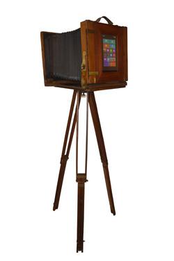 Modell Plattenkamera