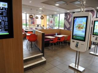 Digital Kiosk at McDonald's