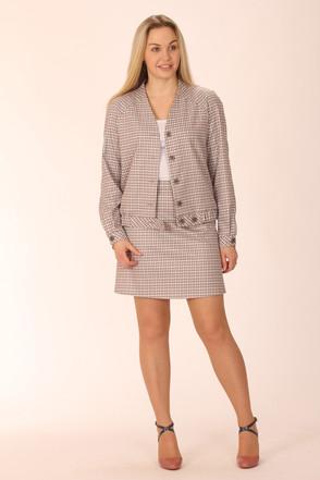 Костюм женский с юбкой 720 размеры 42-48