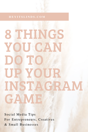 8 Tips To Your Instagram Game