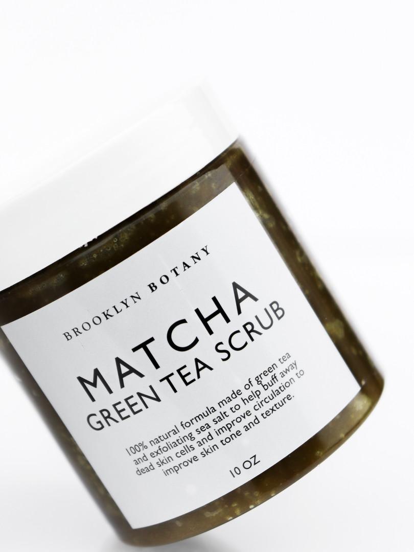 Brooklyn Botany Matcha Green Tea Scrub