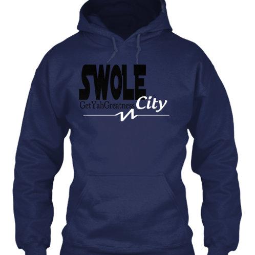 SWOLE City (black lettering)