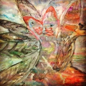 Fox-faced Woodland Angel (detail)