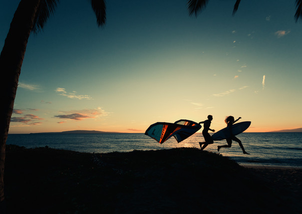 Brand photoshoot - NAISH Kitesurfing