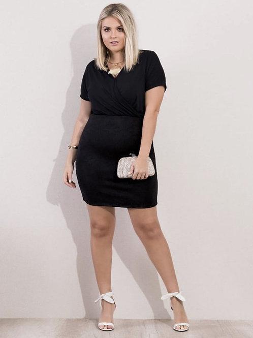 Vestido Plus Size Preto