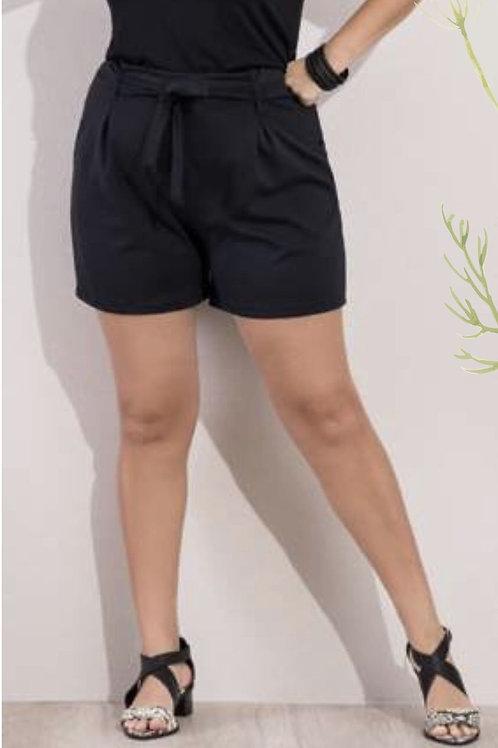 Shorts Clochard Pluz Size Preto
