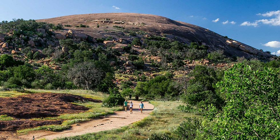 Fall Campout at Enchanted Rock State Park