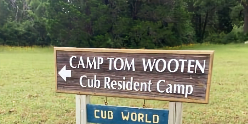 Winter Camping Trip to Camp Tom Wooten