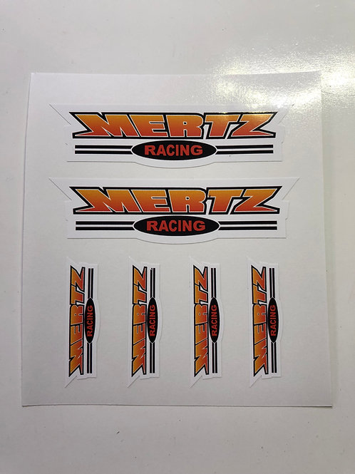 Mertz Racing Stickers