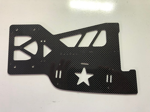 2020 Black Magic Rock Star Modified Chassis Plate