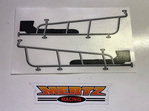 SK Modified Nerf Bar & Header Decals