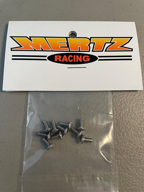 (10) 4-40 x 1/4 Button Head Cap Screws - Stainless Steel