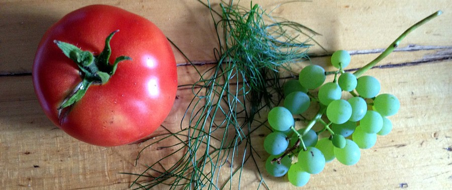 Fall garden food
