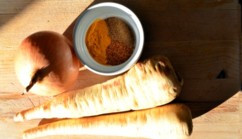 Warming Winter Parsnip Soup!
