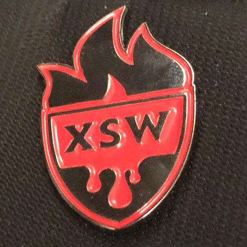 XSW Enamel Pin