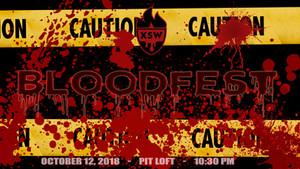 Bloodfest - 10/12/2018